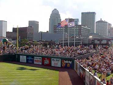 Slugger Field With Louisville Skyline in View